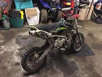 Pit bike Pitbike yx160cc yx150ccx2 demon x stomp + loads of spares