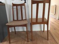 x2 Dining Room Chairs