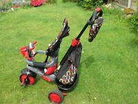 Childrens smarTrike in red