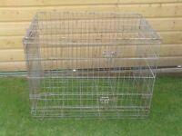 DOG CAGE LARGE WITHOUT TRAY £15