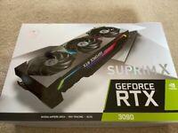 Msi rtx 3090 suprim x 24gb graphics card