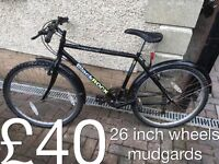 Commuter or student mountain city or hybrid bike £30-£40