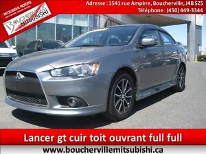 2015 Mitsubishi Lancer GT CUIR, TOIT OUVRANT, ROCKFORD FOSGATE *