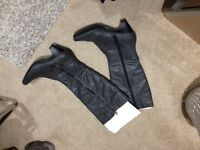 Brand new grey knee high size 5