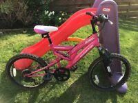 """Girls muddyfox 18"""" bike (age 6-10) in excellent condition"""