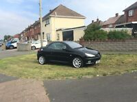 Peugeot 206cc hdi low mileage new mot