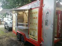 Road trader - Burger Van Trailer - Fully loaded