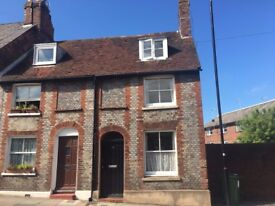 Two bedroom end of terraced house, grade 2 listed in sought after Lewes