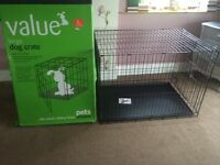 Large dog crate, brand new, never used! RRP £60