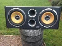Vibe CBR Evolution Twin 12inch Active Sub Bass Box