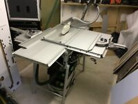 FESTOOL BENCH SAW 240V WITH ADD ONS