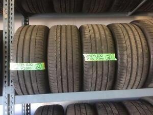 245/35/20 Pirelli P-Zero Tires  Porsche 991 Audi BMW Mustang Nissan Lexus