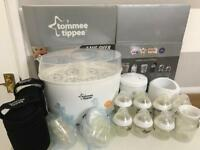 Tommee Tippee Closer To Nature starter kit steriliser electric