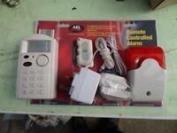 A E I security alarm system