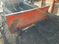 Tractor three point linkage or David Brown loader snow plough yard scraper