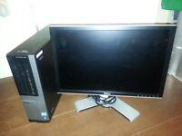 Dell OptiPlex 990 DT QUAD CORE / CORE i5 / 8GB / 1GB GRAPHICS / WIFI / DELL SCREEN