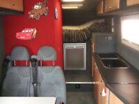 Mercedes Benz Vario 614 campervan conversion