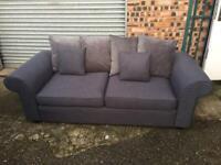Grey 3 seater sofa