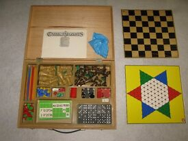 Box of traditional game