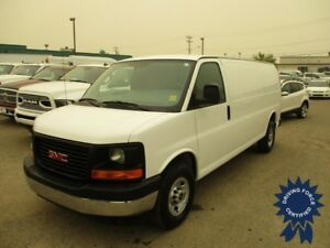 "2017 GMC Savana 2500 155"" WB Extended Length Cargo Van"