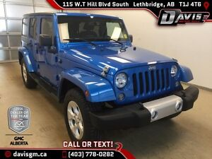 Used 2015 Jeep Wrangler Unlimited 4WD Sahara-ONE OWNER
