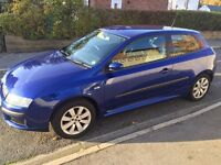 For Sale Fiat Stilo 1.4 Sports Blue. In excellent condition, Maintained very well. 10 months MOT