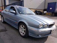 2002 JAGUAR X-TYPE 2.1 V6 PETROL, AUTO, LOW MILEAGE, HPI CLEAR, GOOD CONDITION, LEATHER INTERIOR.