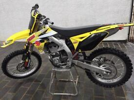 Suzuki rmz 450 2016 mx bike not crf yzf kxf