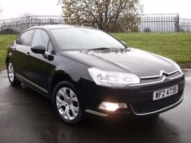 08 CITROEN C5 2.0 HDI EXCLUSIVE *LEATHER* MINT CAR!! LIKE A4 PASSAT SUPERB OCTAVIA 320D 520D A6