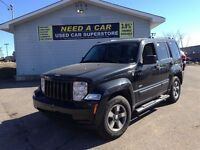 2008 Jeep Liberty SPORT | LEATHER | ROOF | 4X4