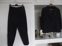 Business Trouser Suit made to measure for pear shaped woman size 14-16