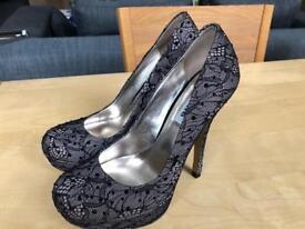 Dune heels - size UK 4 / EUR 37