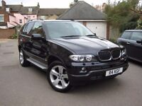 BMW X5 3.0 d Sport 5dr 2005 (55 reg) Excellent Condition, FSH, TV, Bluetooth, Next MOT 13/01/2017