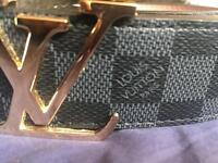 Louis Vuitton belt men's (M)