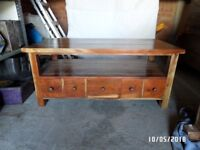 TV stand -storage unit.