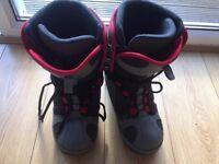 snowboard boots size 9 1/2 big air brand