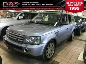 2008 Land Rover Range Rover Sport HSE NAVIGATION/LEATHER/SUNROOF