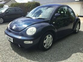 Vw beetle 2.0 mot 21/9/17 great driving car very reliable cookstown