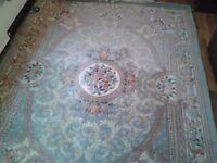Large patterned Rug
