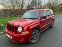 2009 JEEP PATRIOT LIMITED 2.0 CRD 4WD # FULL LEATHER # PARKING SENSORS