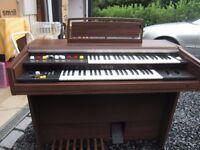 Yamaha Electrone Organ (Model BK-40)