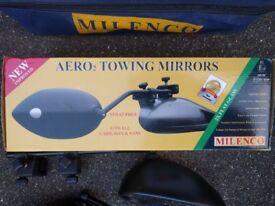 Milenco Aero 2 Towing Mirrors (pair)