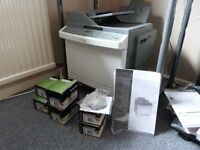 Lexmark X544dn colour laser printer. Only lightly used for copying on rare occasions.