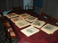 Large collection of original WW2 illustrated magazines