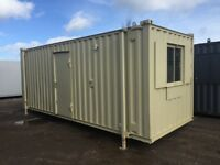 Anti-Vandal Site Office & Toilet Units FOR SALE from £2600 + vat