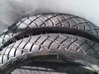 2x M45 tires 17x2.75