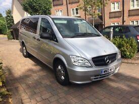 2013 Mercedes Benz Vito 2.1 113 CDI BlueEfficiency Traveliner 8 Seater Bus Sat Nav - 1 Owner