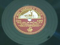 Ballet suite no I & 2, The swan lake op20 78rpm