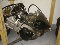 Suzuki GSXR 1000 K4 complete engine and many other parts- breaking whole bike