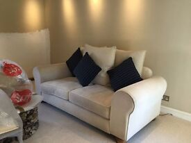 Cream Sofa - Very Good Quality! Really comfortable and Only one year old!